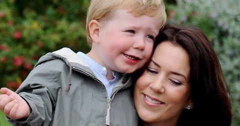 STERKT Å BLI MOR: Mary sammen med sønnen Christian.