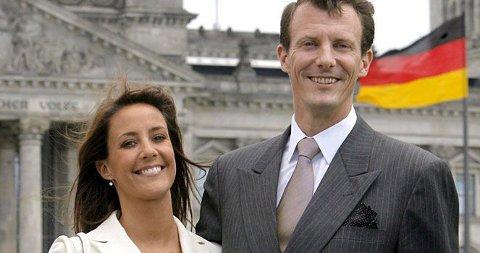 BABY? Prinsesse Marie og prins Joachim kan ifølge danske medier allerde vente sitt kongebarn.