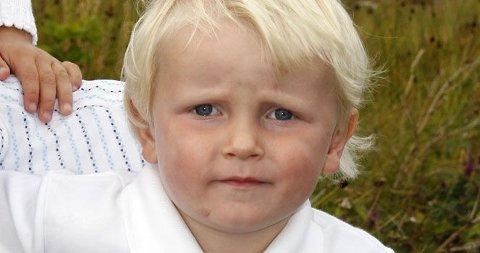 GRATULERER: Sverre Magnus fyller tre år 3.desember - vi gratulerer!
