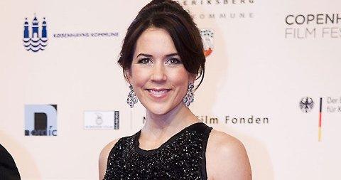 PÅ FILMFEST: Kronprinsesse Mary strålte på filmfest i København i helgen - nå hevder svensk presse at hun venter barn nummer tre.