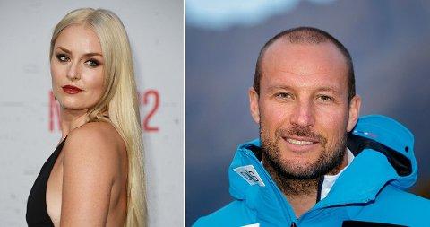 ANNEN RETNING: Den amerikanske alpinstjernen Lindsey Vonn har bestemt seg for når karrieren er over. Aksel Lund Svindal har ikke planer om å gjøre det samme.