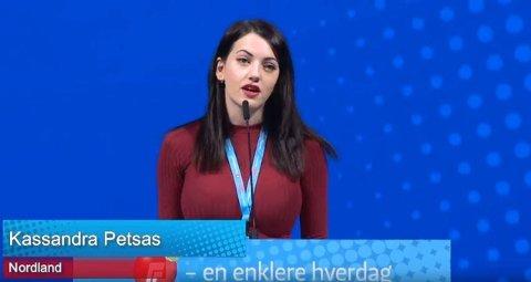 Kassandra Petsas.