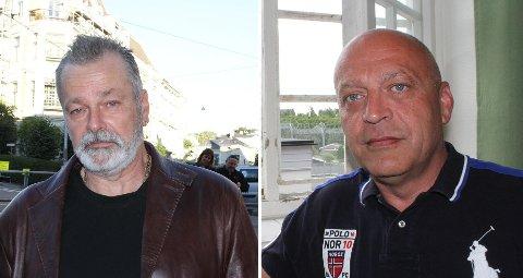 Eirik Jensen (t. v.) er ennå en fri mann og har tilbragt de siste dagene i utlandet. Gjermund Cappelen sitter formelt sett varetektsfengslet, noe han har gjort siden han ble pågrepet i desember 2013. Begge bildene er fra en tidligere anledning.