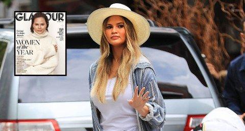 COMEBACK-DRONNINGEN: Chrissy Teigen lar seg ikke prelle på nesen når folk farer med usaklige kommentarer på Instagram. Da hun fikk kommentar fra en kvinne ved navn Heidi om at hun ikke var fin på forsiden av Glamour, satte Teigen henne på plass.