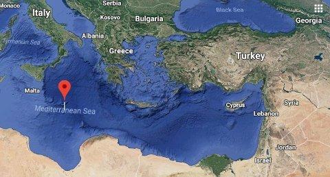 Den østlige delen av Middelhavet