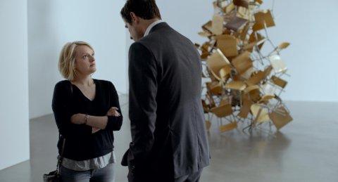 Elisabeth Moss har en av rollene i den svenske filmen The Square.
