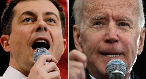 Pete Buttigieg (tv) kan tåle et tap i New Hampshire dag, men det gjør antakelig ikke Joe Biden.