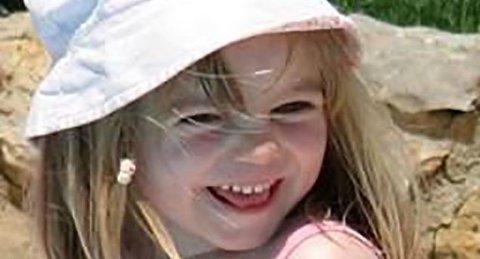 Madeleine McCann forsvant mens familien var på ferie i Portugal for 13 år siden.