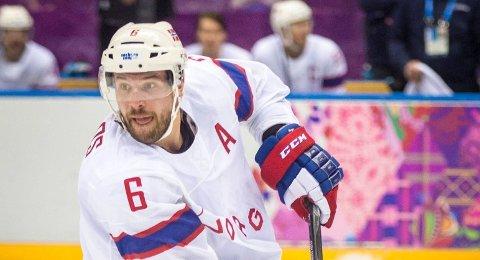 SCORET: Hockeyproff Jonas Holøs.