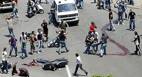 Libanon Beirut 10. mai 2008