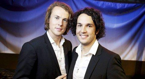 """YLVIS: Bård og Vegard Ylvisåker har vært å se på TV-skjermen med """"Ikveld med Ylvis"""" denne høsten. Forrige uke slapp de album."""