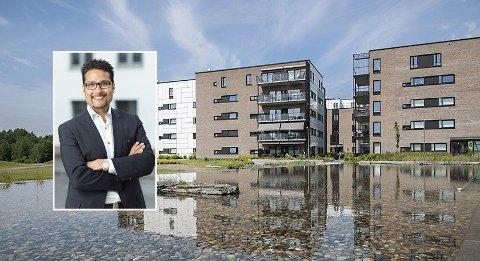 Obos-sjef Daniel Kjørberg Siraj kan notere nok en god måned for Obos-prisene.