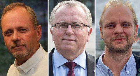 DRØMMEPENSJON: Både konserntillitsvalgt Owe Ingemann Waltherzøe og politiker Mímir Kristjánsson (R) mener Equinor-sjef Eldar Sætre har gjort en god jobb, men at den ikke i nærheten av forsvarer en pensjon på rundt 150 millioner kroner.