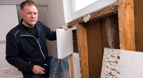 Takstingeniør Finn Skarpenes forklarer at hvis takstmannen finner ut at det er gjort ulovlige endringer på boligen, kan salgsprosessen dra ut i tid, fordi det gjerne må ryddes opp i dette før boligen kan legges ut for salg.