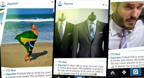 KUN FOR MENN: Påtroppende kulturredaktør Sarah Sørheim reagerer på at premien i TV 2s VM-konkurranse kun er brukbar for menn.