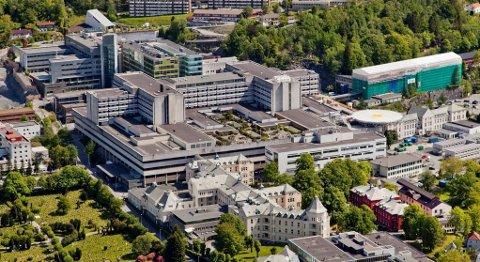 Haukeland Universitetssykehus. Illustrasjonsbilde.