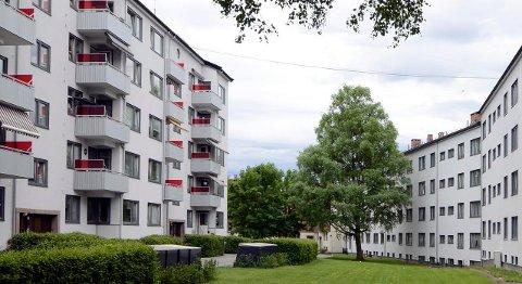 OPP I SEPTEMBER: Prisene på OBOS-boliger steg i september, her fra et borettslag på Voldsløkka, rett ved Bjølsen og Sagene.