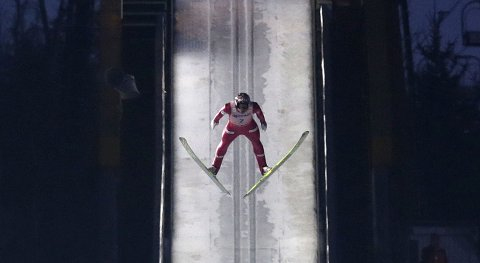 AVLYST: Anders Bardal og Norge får ikke sjansen til å ta medalje i lagkonkurransen.
