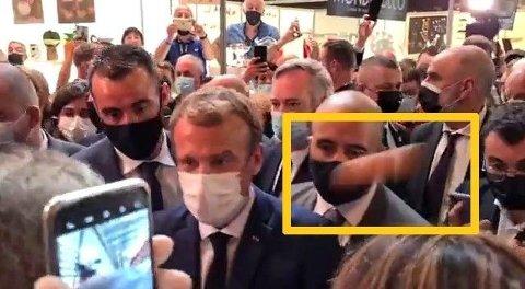 «PROSJEKTIL»: Den ukjente gjenstanden blir av franske medier omtalt som et prosjektil.