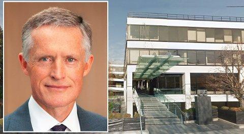 SUPER-FORVALTER: Ole Andreas Halvorsen har tjent over 200 milliarder kroner siden oppstarten av Viking Global Investors i 1999. Halvorsen driver sitt investeringsselskap fra disse kontorlokalene i Conneticut i USA.
