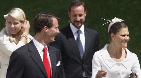 KJØLIG FORHOLD: Victoria og Joachim har aldri stått hverandre nære - den svenske kronprinsessen synes han har levd et altfor utagerende liv.