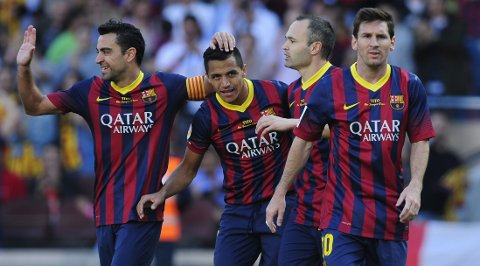 GULL: Lionel Messi vil ha ligagull.