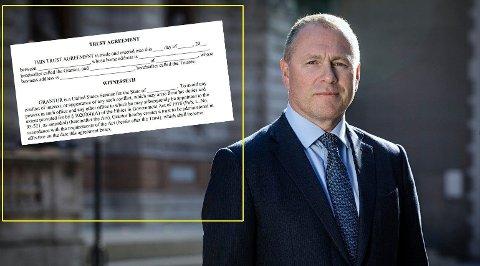 LØSNINGEN: Nicolai Tangen kan bruke en blind trust for å rydde unna formuen og begynne som sjef for Oljefondet.