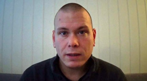 DRAPSMANNEN: Espen Andersen Bråthen er siktet for drap på fem personer på Kongsberg. Foto: Skjermdump fra video / NTB