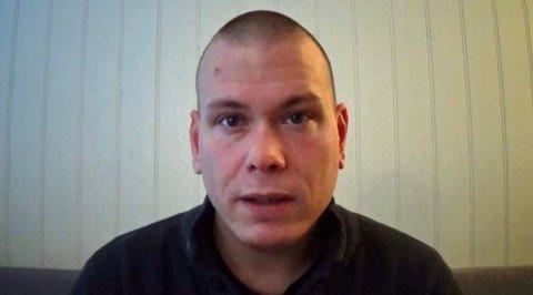Espen Andersen Bråthen er siktet for drap på fem personer på Kongsberg onsdag kveld. Foto: Skjermdump fra video / NTB