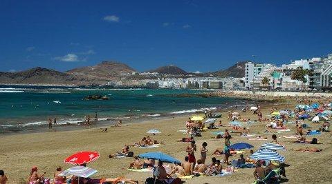 SVINDEL: Turister i Las Palmas på Grand Canaria skal ha blitt svindlet av nordmannen og hans kolleger.