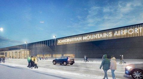Trysil-jubel over den nye svenske flyplassen Scandinavian Mountains Airport.