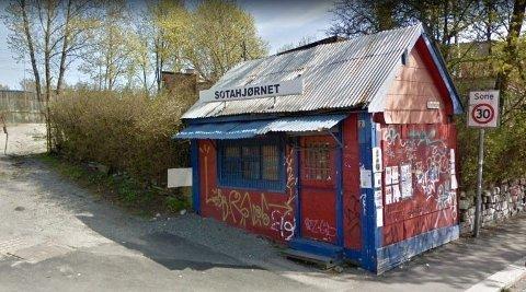 STOPP: Denne kiosken på Vålerenga kan velte OBOS´ planer om å bygge 50 leiligheter.