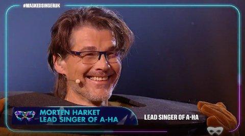 MASKEFALL: Det var Morten Harket som var Vikingen.