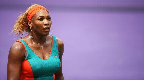 UTE: Serena Williams gikk på et sjokktap i South Carolina.