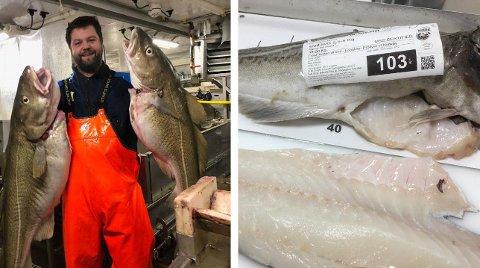 GODE TIDER NÅ: Fisker og skipper Christer Leinebø kan glise over god fangst og gode priser i 2019 - på lang sikt kan det britiske markedet skrumpe inn, om ikke utfallet Brexit blir som norske fiskere håper. FOTO: Leinebri