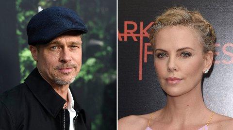 PAR: Ifølge en kilde til The Sun skal Brad Pitt og Charlize Theron være et par.