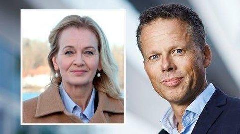 MÅ KUTTE: Konsernsjef Carina Åkerstrøm i Handelsbanken vil kutte 800 ansatte, men kommunikasjonsdirektør Lars Sæthre i Norge vet ikke om noen norske kutt.