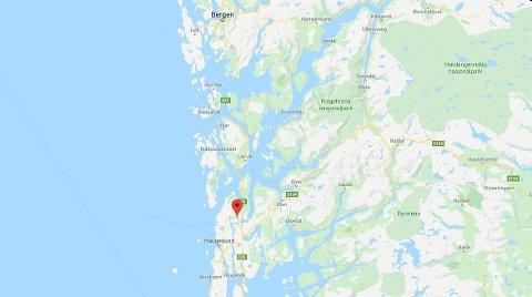 PERSONBIL MOT LASTEBIL: Alvorlig trafikkulykke på E39 Sundførvegen i Rogaland.