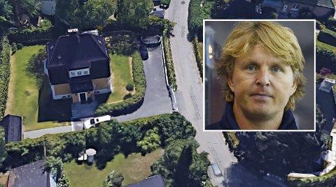 SELGER I VEST: Østkantgutten Espen Knutsen har i mange år bodd i en stor villa på Oslo vest, men den er nå til salgs for 25 millioner kroner.