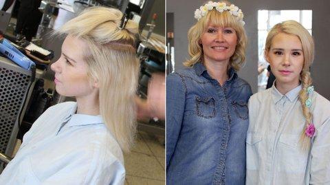 VÅRFIN: Å ordne disse frisyrene tok overraskende kort tid, og viser at det ikke skal mye til for å oppdatere sveisen.