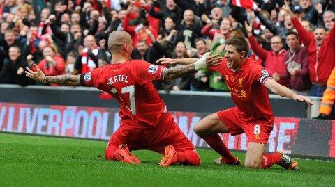 BEST: Brendan Rodgers mener at ingen er like gode som Steven Gerrard i den kontrollerende midtbanerollen.