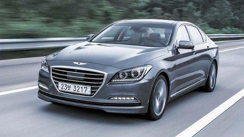 Nye Hyundai Genesis. (Foto: Drive.com.au)