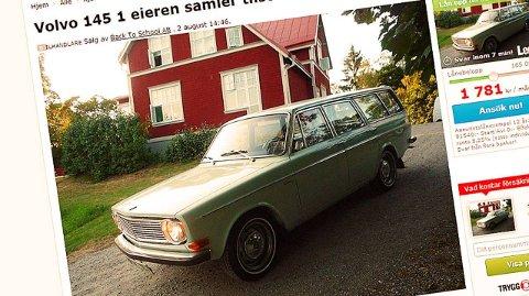 Den gamle Volvo holder en helt utrolig høy standard.