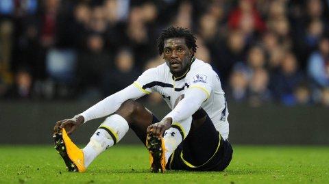 Emmanuel Adebayor håper Tottenham-fansen vil fortsette å støtte laget.