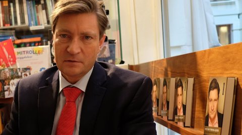 FRYKTER INNVANDRINGEN: Christian Tybring-Gjedde skriver om den usunne norske økonomien i boka «Mens orkesteret fortsetter å spille».