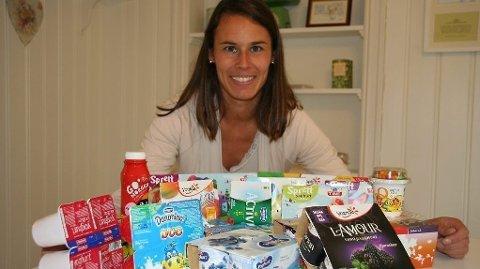 - Jeg er ikke så veldig imponert, sier ernæringsfysiolog Camilla Andersen i til Side2 om barneyoghurtene.