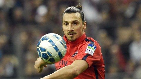 UTESTENGT: Zlatan Ibrahimovic er suspendert fra både Champions League-kampen mot Barcelona og i franske Ligue 1.