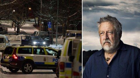 PERSSON: Den anerkjente svenske kriminologen Leif GW Persson er forundret over svensk politis tafatthet mot den økte kriminaliteten i storbyene.
