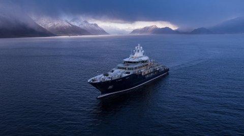 Superyachten Ulysses er 116 meter lang og er nå eiendommen til Facebook-sjef Mark Zuckerberg.