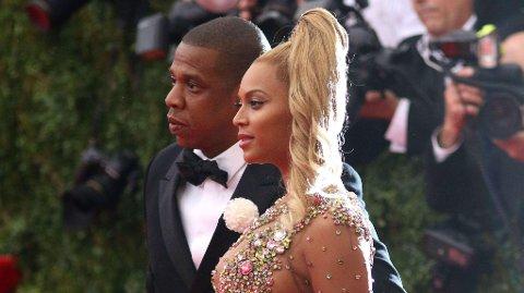SUPERPAR: Shawn Corey Carter, alias Jay-Z er USAs rikeste artist. Her med kona Beyoncé Giselle Knowles-Carter.